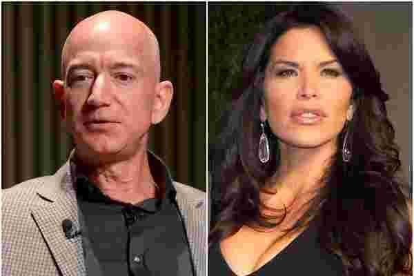 杰夫·贝佐斯 (Jeff Bezos) 和劳伦·桑切斯 (Lauren Sanchez) 与劳埃德·布兰克芬 (Lloyd Blankfein) 和模特卡莉·克洛斯 (Karlie Kloss) 一起参加了亿万富翁大卫·格芬 (David Geffen) 的超级游艇