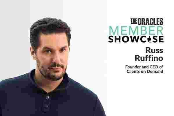 根据Russ Ruffino的说法,这种日常习惯(有点扭曲)是成功的秘诀
