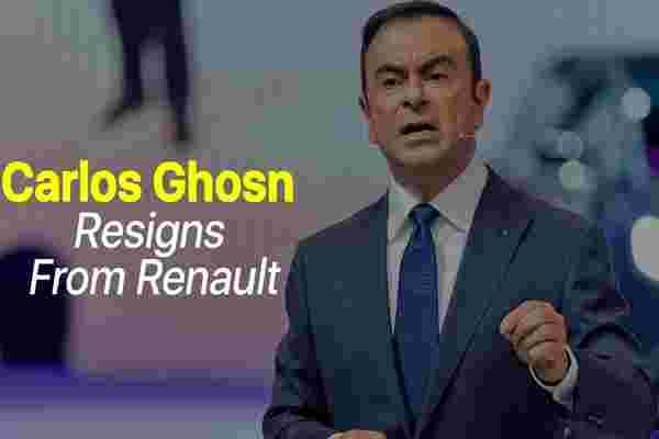 星期五闪回: 卡洛斯·戈恩 (Carlos Ghosn) 因不当行为指控而从雷诺辞职